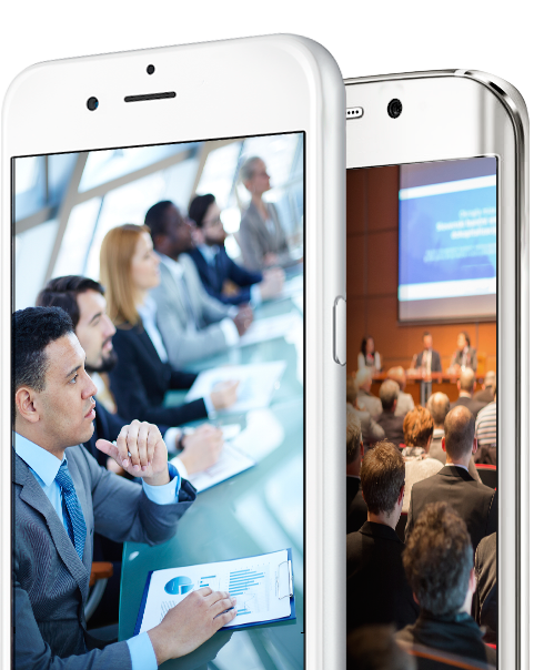 Congress app, event solution more engagement, feedback, sharing, push messages
